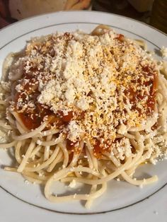 Greek Recipes, Vegan Recipes, Cookbook Recipes, Cooking Recipes, Greek Pasta, Greek Dishes, Feta, Macaroni And Cheese, Spaghetti