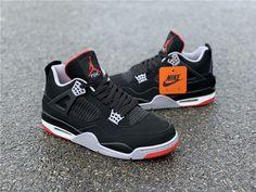 sneakers for toddler girls Jordan Shoes Girls, Jordans Girls, Girls Shoes, Air Jordans, Girls Sneakers, Shoes Sneakers, Air Jordan 4 Bred, Jordan Iv, Zapatillas Nike Jordan
