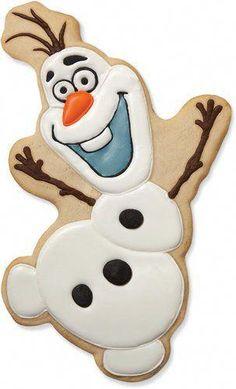 Olaf Cookies, Giraffe Cookies, Disney Cookies, Frozen Cookies, Frozen Cake, Sugar Cookies, Disney Frozen Party, Frozen Theme Party, Frozen Birthday