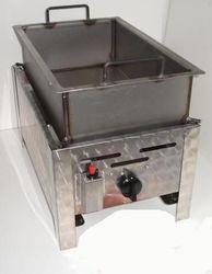 FRY Pan Gas LP Lpg Fryer Boiling Grilling Cooker Oven BBQ 1 Burner DEEP FAT FRYER GAS LP LPG PROPANE-BUTANE