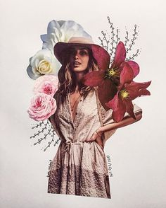 free people flower collage by katy edling - No. 50/100