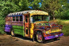 .hippie bus