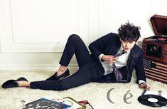 Lee Jong Suk on Check it out! Lee Jong Suk Ceci, Lee Jung Suk, Love Confessions, Young Male Model, W Two Worlds, Girl Korea, Kim Woo Bin, Kpop, Moda Masculina