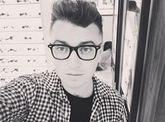 And his eyewear choices are always on point. | 27 Reasons Sam Smith Is The Angelic Voice The World Needs Right Now
