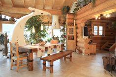 dream home on pinterest dekoration log homes and wooden. Black Bedroom Furniture Sets. Home Design Ideas