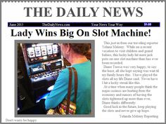 Lady wins big!