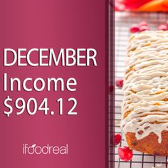 December Income – $904.12