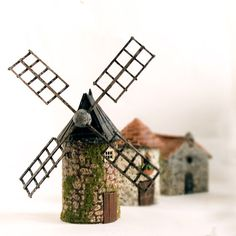 Old French Country - miniature buildings