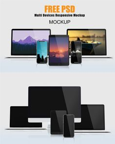 Free Multiple Devices Responsive Mockup is perfect for showcasing your web design in a realistic appearance. This mock-up is in high resolution x The post Multi Devices Responsive Mockup appeared first on Mckups. Persona Examples, Free Svg Fonts, Web Design Quotes, Phone Mockup, Web Layout, Layout Design, Brush Font, Illustrations And Posters, Site Design