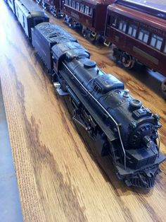 150 best lionel postwar trains images on pinterest model trains lionel postwar engine tender and passenger cars that i put together for a neighbor cheapraybanclubmaster Gallery