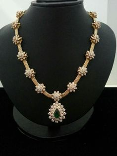 Necklaces #indiangoldjewelry