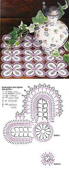 Napkin two-color | Casket for needlewomen