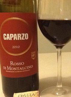 Sangiovese ... Hatte schon seit Tagen Lust auf die Rebsorte ... Mit dem Caparzo 2010 hab ich heute einen besonders trinkfreudigen, harmonischen Vertreter erwischt :) Kirsche, Himbeere, dezente Würze, schön eingebundene Tannine im Abgang, der Wein ist schon fast etwas zu harmonisch, fruchtsüß ... (Immer was zu meckern ... Nie kann man es ihm recht machen ... )