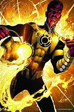 Sinestro and the Yellow Lantern - Why GL fans are often powerless against yellow.