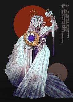 Game Concept, Ancient Art, Zodiac, Korea, Princess Zelda, Draw, Costumes, Illustration, Pretty