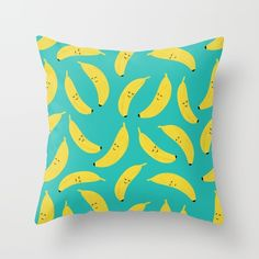 Happy Bananas by Cartoon Being   @society6 #home #decor #bananas #cartoon #food #foodie #products #digital #chic #fashion #style #gift #idea #society6 #design #shop #shopping #buy #sale #fun #accessory #accessories #art #digital #contemporary #cool #hip #awesome  #sweet