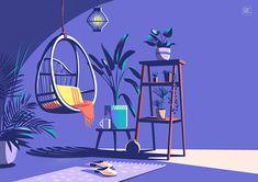 I'm just gonna sit here and do nothing. Reasoning by ranganath krishnamani illustration reasoning Illustrations Poster, Flat Illustration, Graphic Design Illustration, Design Visual, Posca Art, Art Graphique, Vector Art, Concept Art, Art Drawings
