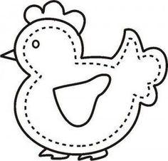 Free Chicken Applique Patterns | International Quilting Patterns