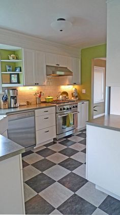 Simple Moves Make This Kitchen Remodel By Live Work Play Great.