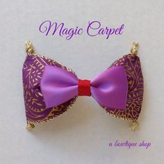 magic carpet hair bow by abowtiqueshop on Etsy https://www.etsy.com/listing/197318623/magic-carpet-hair-bow