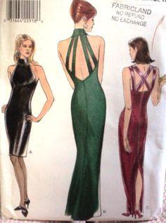 vintage formal dress patterns - Google Search