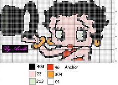 Fabinha Gráficos Para Bordados: Betty Boop