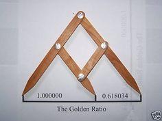 Fibonacci Gauge, Golden Ratio, Golden Mean Design Tool