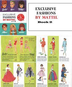 Barbie Fashion Booklet #2, 1964