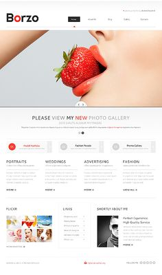 Marketing Agency Responsive Website Template  Marketing Template