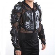 This Motorcycle Protective Armor is made of high-density wear-resistant nylon. Detachable liner allows for easy cleaning, multiple large vents of plastic shells and foam are for maximum ventilation, all of the advantages keep you secure during riding. Actually, it is a necessary for motorcycle rider.