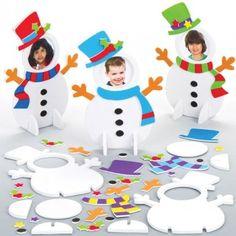 Snowman Mix & Match Photo Frame Kits