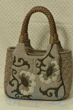 Lovely DIY handbag!