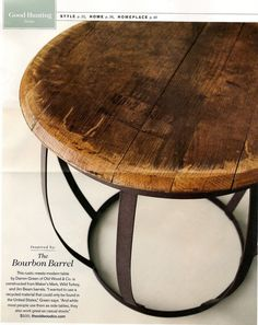 55 best bourbon barrel furniture for life images bourbon barrel rh pinterest com