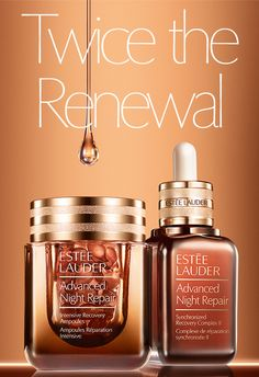 Twice theRenewalNew. Advanced Night Repair AmpoulesApply over Advanced Night Repair Serum and in just 2 weeks, the improvement in skin's protective barrier strength is more than…