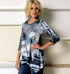 V 9057  5 styles of tees to mix and match
