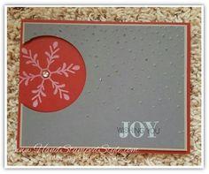 Holly Jolly Greetings Simple Christmas Card
