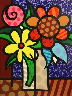 """vanBRITTO"" by Romero Britto."