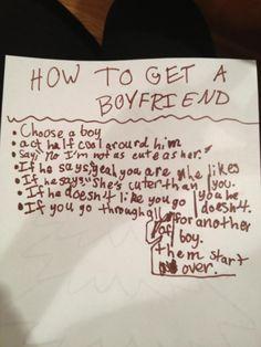 How to find a boyfriend in 4th grade