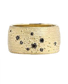 #Shaesby #rings #yellowgold #blackdiamonds #diamonds #tesoro