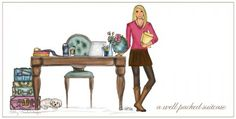 Custom Illustration   Ashley Brooke Designs