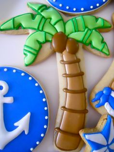 Sailing / Beach Theme By Oh Sugar Events Planning