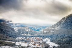 The valley of Briançon | Hautes-Alps, France | #stockphotos #gettyimages #print #travel |