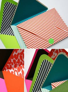 SOMETHING CRAFTY #7: HANDMADE ENVELOPES AND LINERS