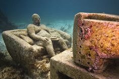 Underwater Sculptures by Jason deCaires Taylor | Inspiration Grid | Design Inspiration