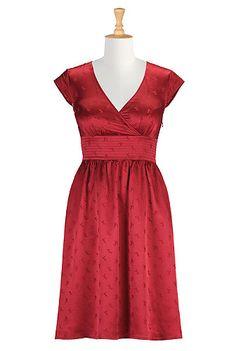 eshakti crimson bridesmaids dresses