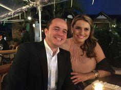 En la boda de Daniela