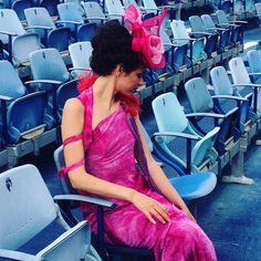 Sulle scalinate del Teatro G. Puccini a Torre del Lago!!! Continua lo shooting con le ragazze @missartemodaitalia  #girl #love #portrait #igersoftheday #igers #fashion #fashionable #hat #hats #fashinator #style #girls #opera #puccini #teatro #shooting #ragazze #modisteria #model #models #pic