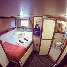 Our beautiful and roomy staterooms on the MV Sikumi all have private heads and comfy queen beds. Come check us out. #customalaskacruises #sikumi #discoveralaska #smallshipcruise #familyvacation #alaska
