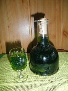 Gotowanie i pieczenie - I love it .: Nalewka miętowa Alcoholic Drinks, Beverages, Christmas Food Gifts, Irish Cream, White Wine, Catering, Cooking, Art, Syrup