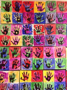 1st grade Pop Art
